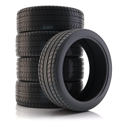 Stock of Summer Tires